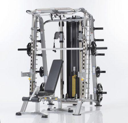 TuffStuff Evolution Smith Machine / Half Cage Ensemble (CSM-725WS)