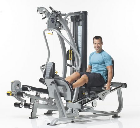 TuffStuff Hybrid Home Gym (SXT-550) with Optional Leg Press (SXT-LP)