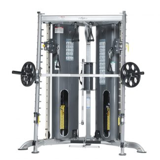 Evolution Corner Multi-Functional Trainer with Smith Press Attachment