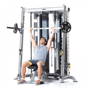 TuffStuff Evolution Corner Multi-Functional Trainer with Smith Press Attachment (CXT-225)