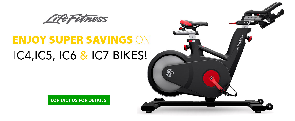 Life Fitness Bikes at Southeast Fitness